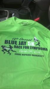 Blue Jay 5K Shirt