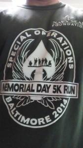 Memorial Day 5k Shirt