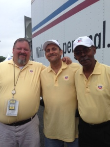 Rite Aid Driver's Skill Champion (center)