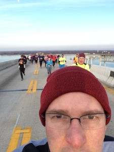 Bridge Selfie - The Camera adds 5 lbs to my nose