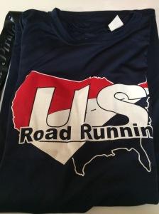 US Road Running Shirt