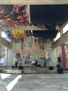 Live music at The Ruins