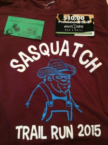My first Squatch shirt!